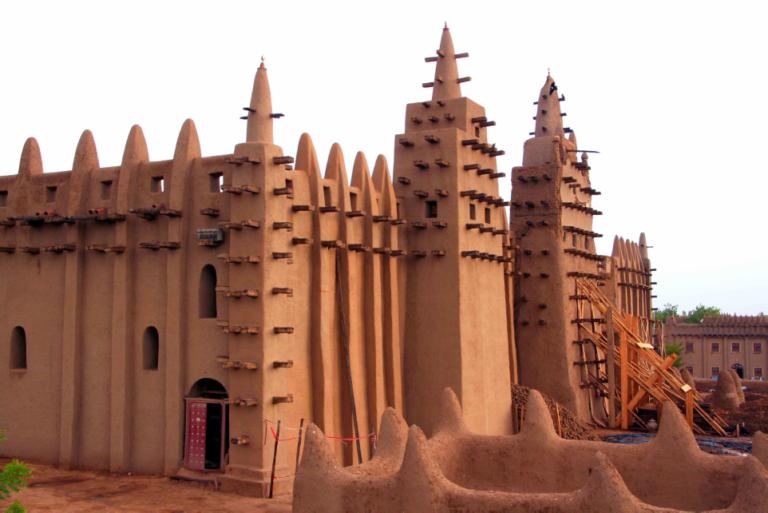 mezquita de Tombuctú mali