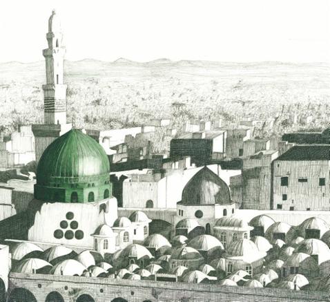 mezquita del profeta saws