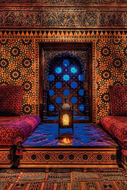 Decoración casa arabe